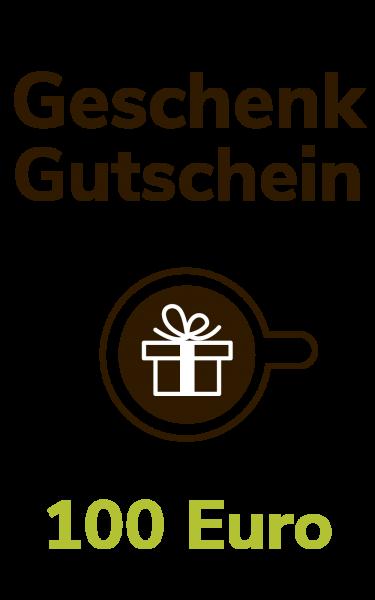 Dresdner Kaffee und Kakao Rösterei Geschenkgutschein 100 Euro
