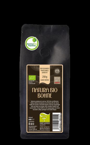 Dresdner Kaffee und Kakao Roesterei Ganze Bohne Natura Bio 250g