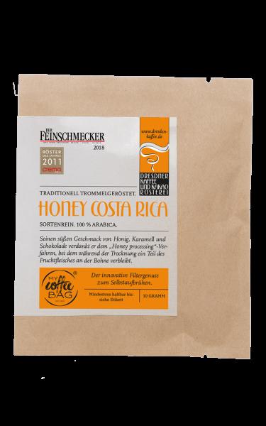 Dresdner Kaffee und Kakao Roesterei CoffeeBag Honey Costa Rica1