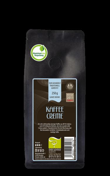 Dresdner Kaffee und Kakao Roesterei Kaffee Creme 250g