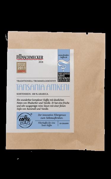 Dresdner Kaffee und Kakao Roesterei CoffeeBag Tansania Amkeni