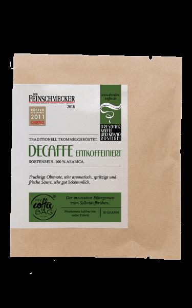 Dresdner Kaffee und Kakao Roesterei CoffeeBag Decaffe