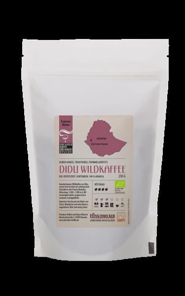 Dresdner Kaffee und Kakao Roesterei Espresso Didu Wildkaffee 250g
