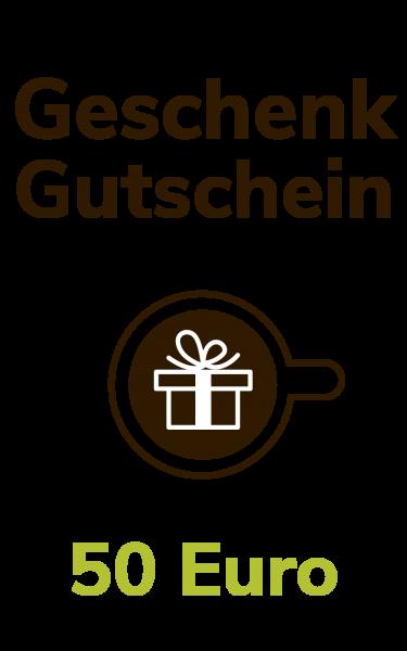 Dresdner Kaffee und Kakao Rösterei Geschenkgutschein 50 Euro