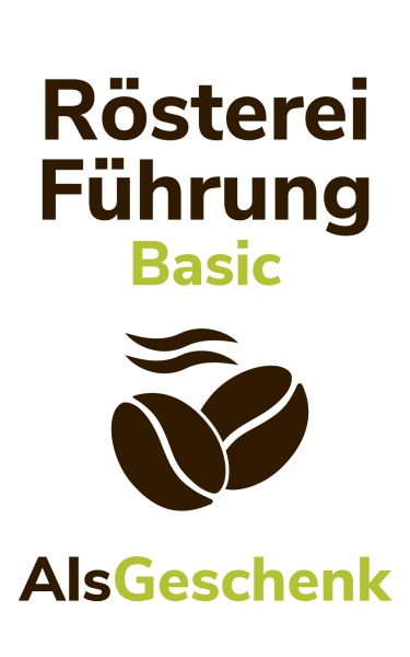 Dresdner Kaffee und Kakao Rösterei Gutschein Röstereiführung Basic