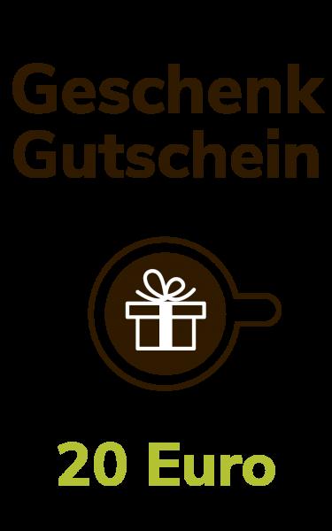 Dresdner Kaffee und Kakao Rösterei Geschenkgutschein 20 Euro
