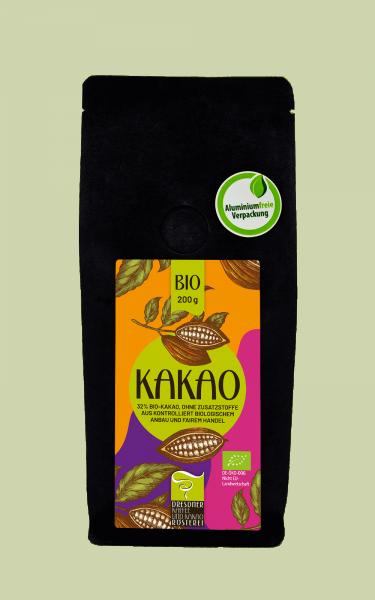 Dresdner Kaffee und Kakao Rösterei Kakao