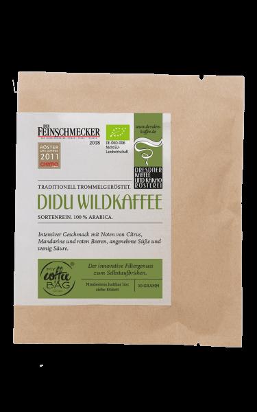 Dresdner Kaffee und Kakao Roesterei CoffeeBag Didu Wildkaffee