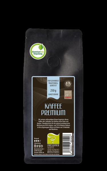 Dresdner Kaffee und Kakao Roesterei Kaffee Premium Bohne 250g