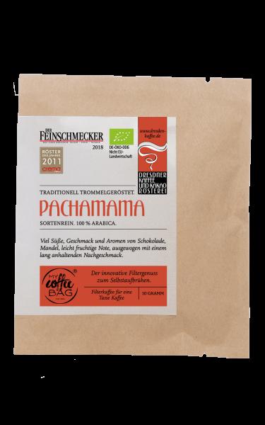 Dresdner Kaffee und Kakao Roesterei CoffeeBag Pacha Mama