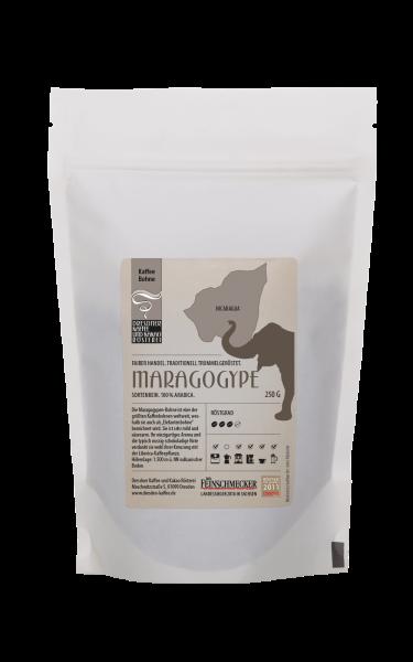 Dresdner Kaffee und Kakao Roesterei Ganze Bohne Maragogye 250g