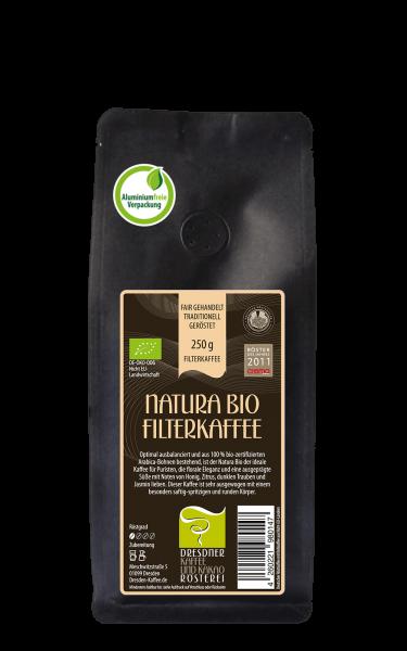 Dresdner Kaffee und Kakao Roesterei Natura Bio Filterkaffee 250g