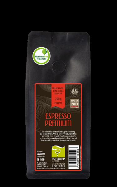 Dresdner Kaffee und Kakao Roesterei Kaffee Espresso Premium 250g